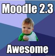 Moodle 2.3
