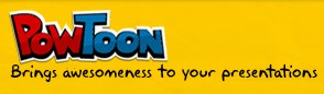Links to Powtoon website