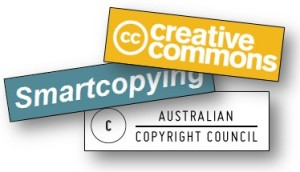 Logos of copyright websites